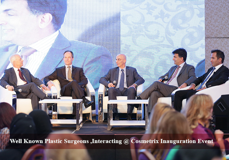 Well Known Plastic Surgeons, Interacting @ Cosmetrix Inauguration Event